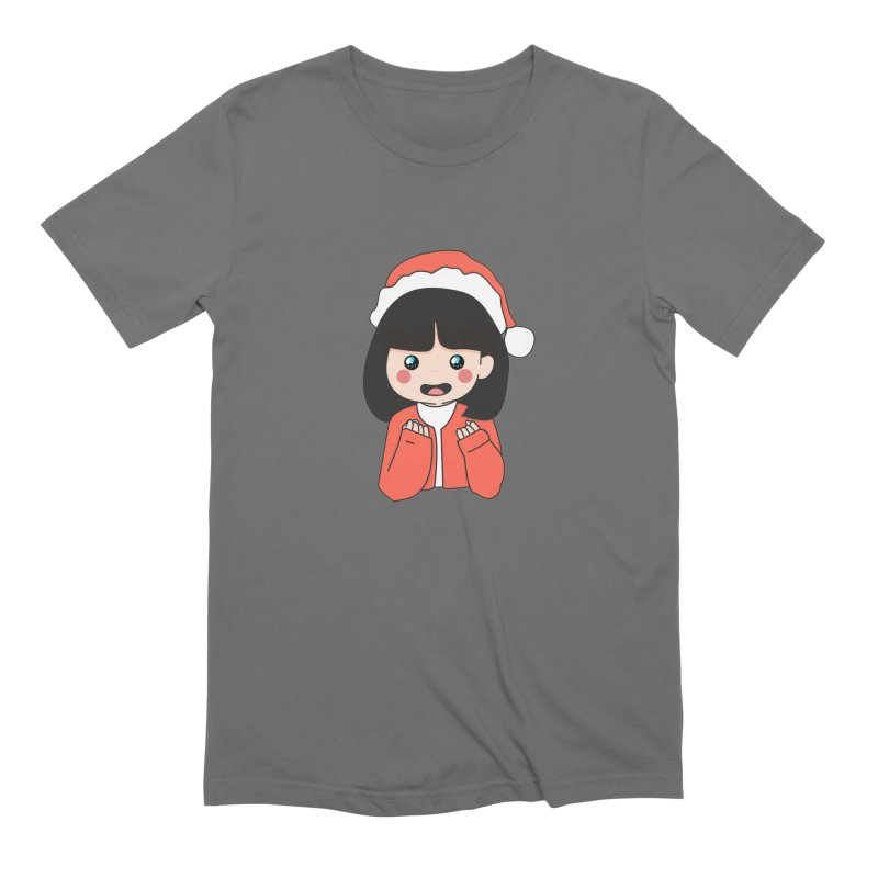 Christmas Girl Men's T-Shirt by theladyernestember's Artist Shop