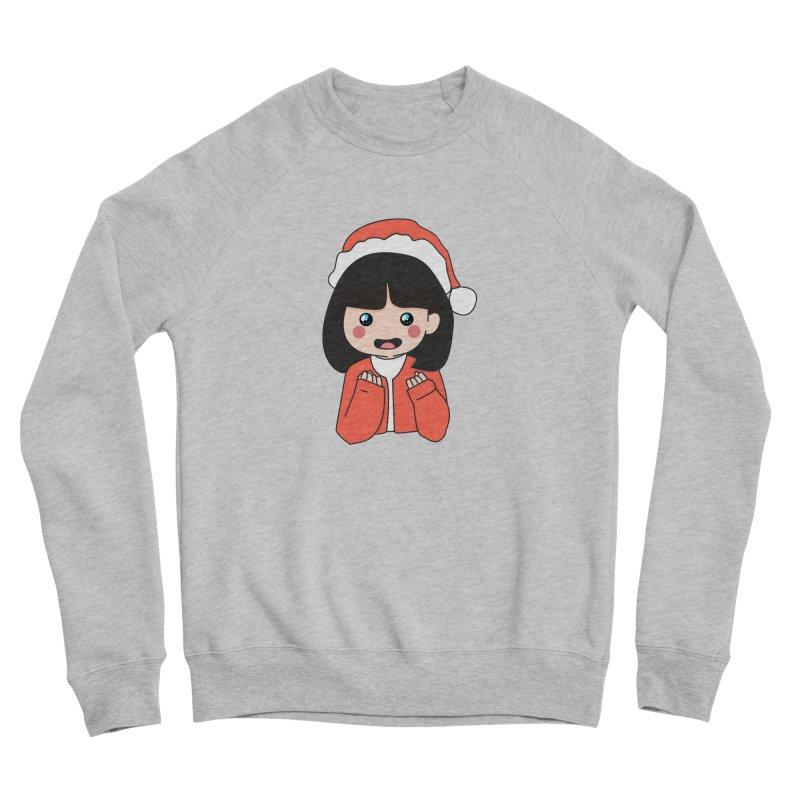 Christmas Girl Men's Sponge Fleece Sweatshirt by theladyernestember's Artist Shop