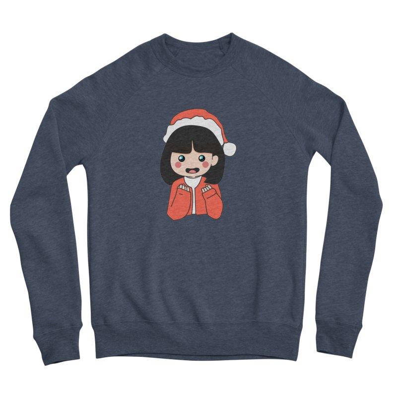Christmas Girl Women's Sponge Fleece Sweatshirt by theladyernestember's Artist Shop