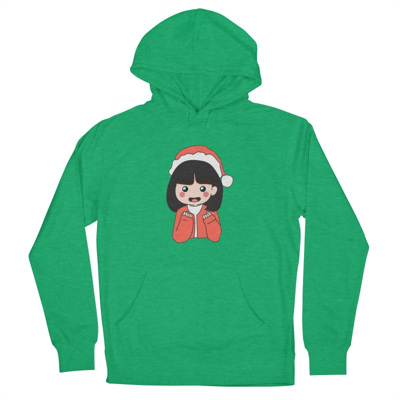 Christmas Girl Men's French Terry Pullover Hoody by theladyernestember's Artist Shop