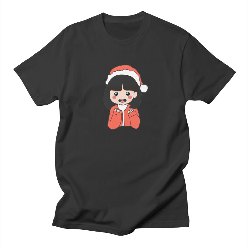Christmas Girl Women's Regular Unisex T-Shirt by theladyernestember's Artist Shop