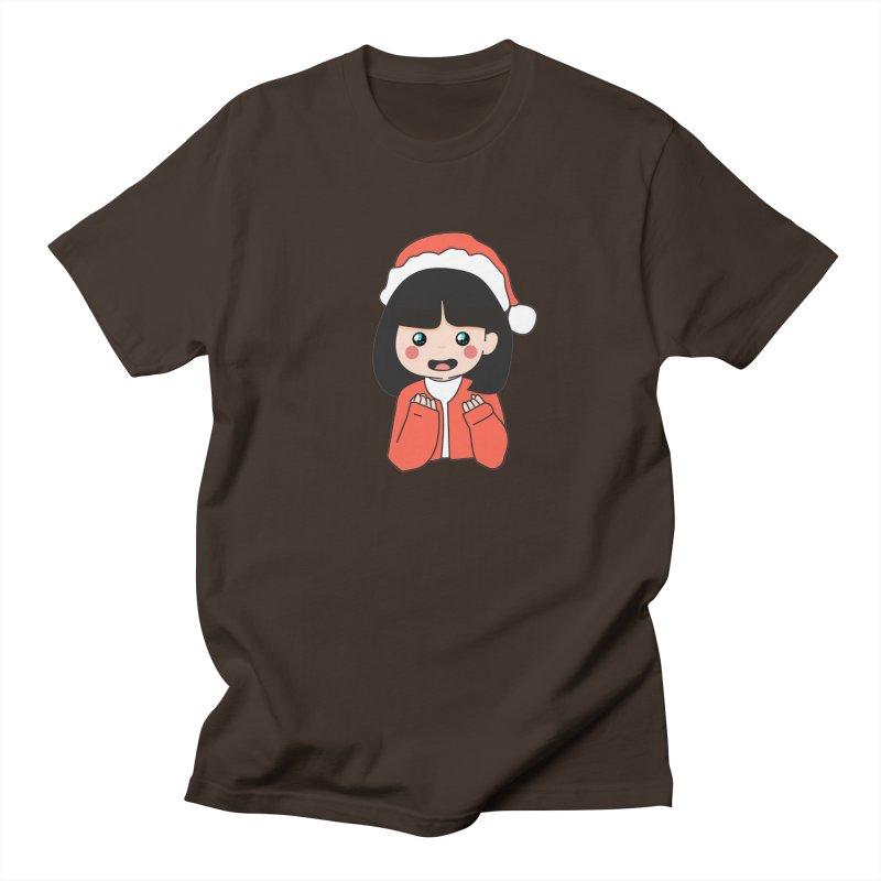 Christmas Girl Men's Regular T-Shirt by theladyernestember's Artist Shop