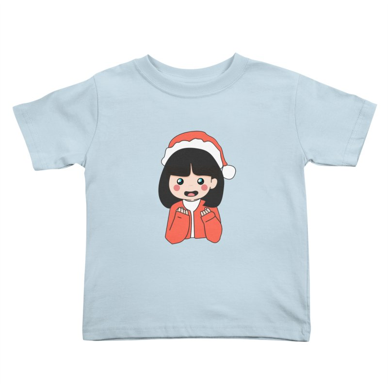 Christmas Girl Kids Toddler T-Shirt by theladyernestember's Artist Shop
