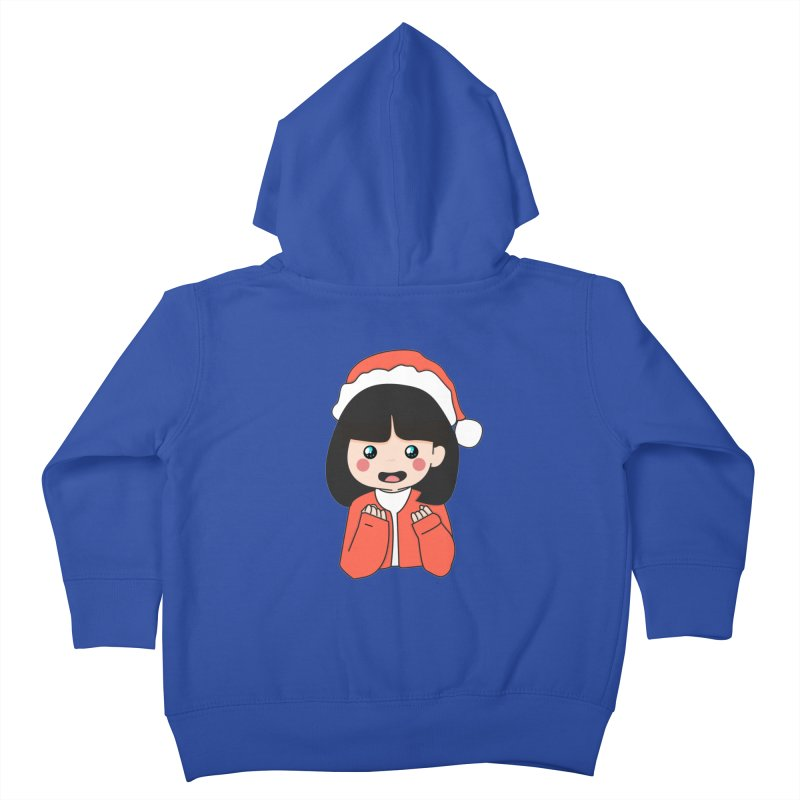 Christmas Girl Kids Toddler Zip-Up Hoody by theladyernestember's Artist Shop