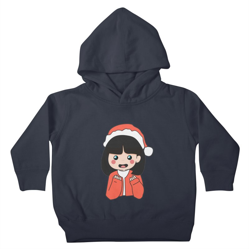 Christmas Girl Kids Toddler Pullover Hoody by theladyernestember's Artist Shop