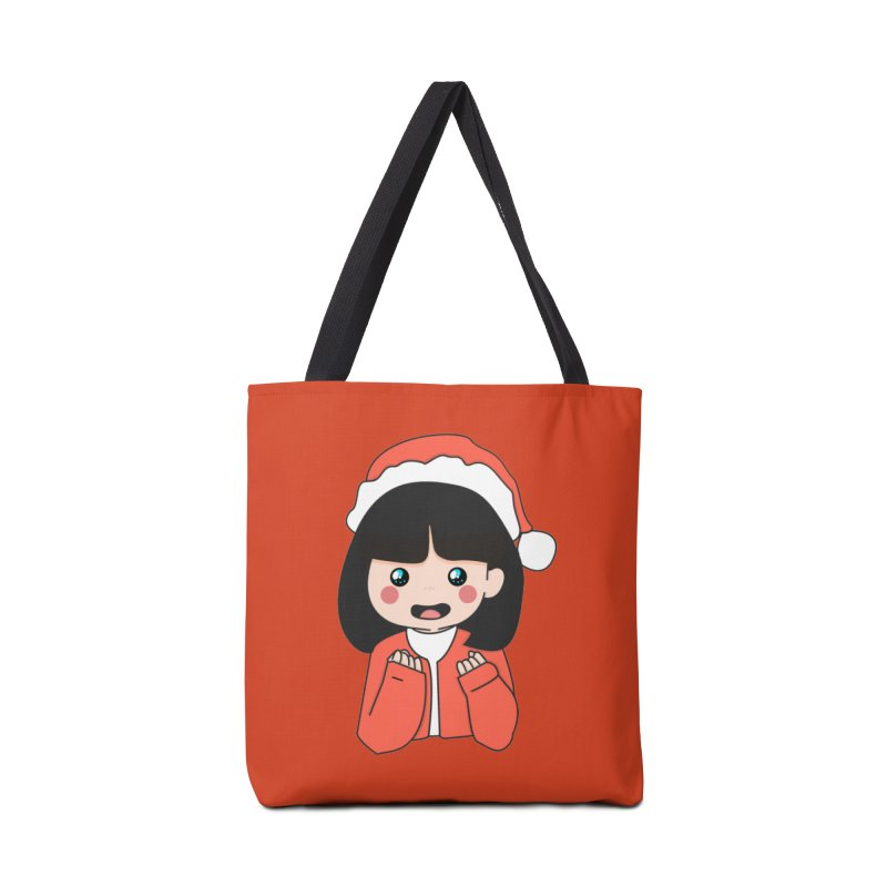Christmas Girl Accessories Bag by theladyernestember's Artist Shop