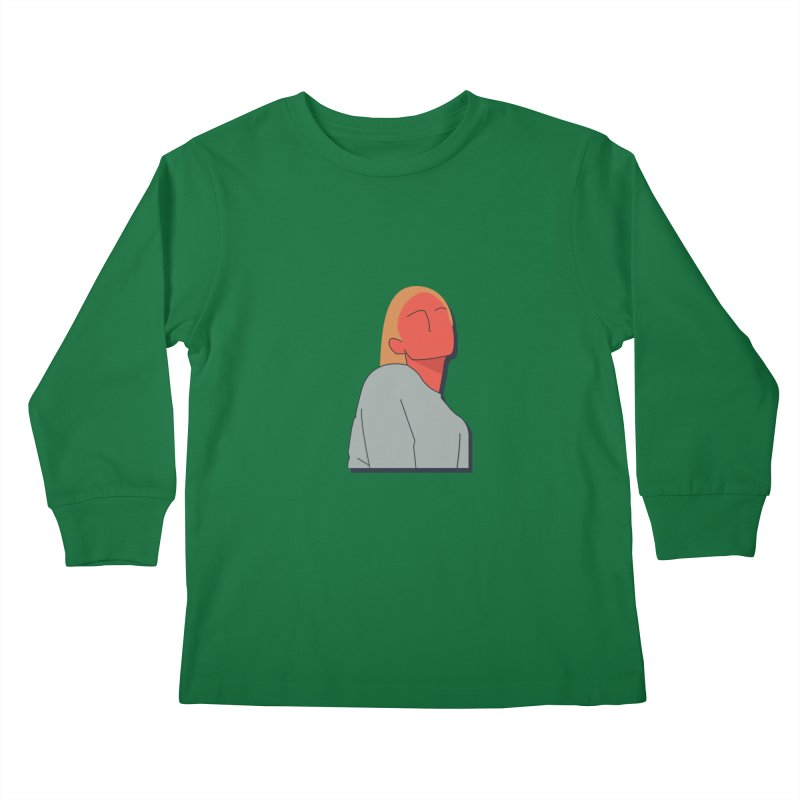 Lady Kids Longsleeve T-Shirt by theladyernestember's Artist Shop