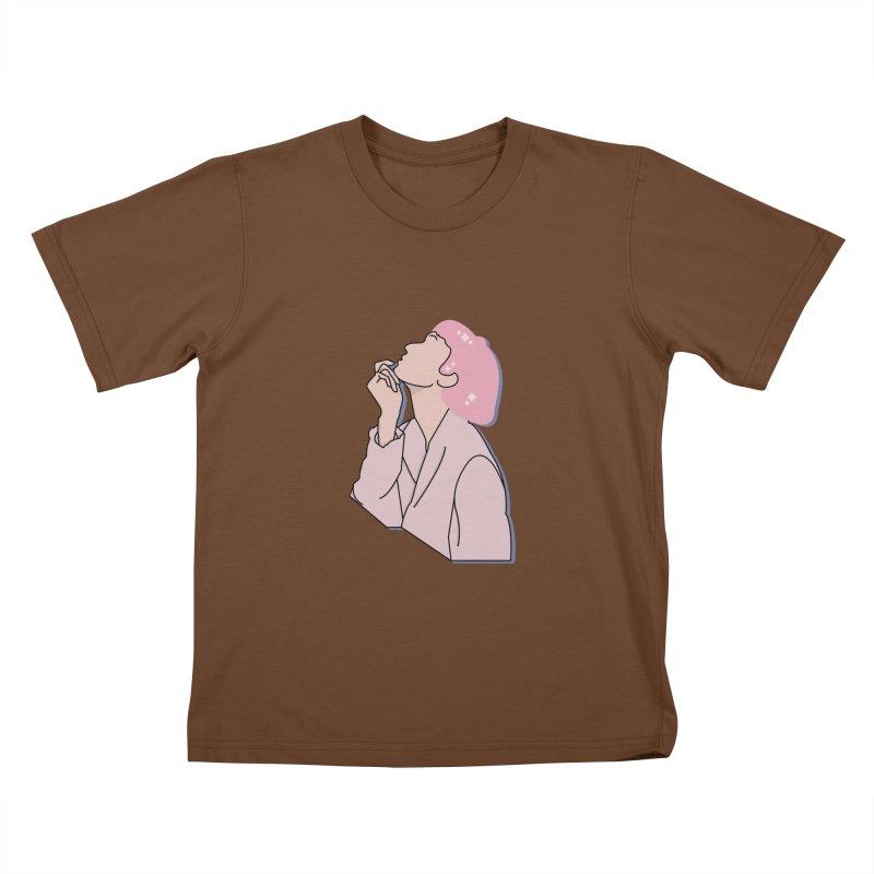 Lady Kids T-Shirt by theladyernestember's Artist Shop