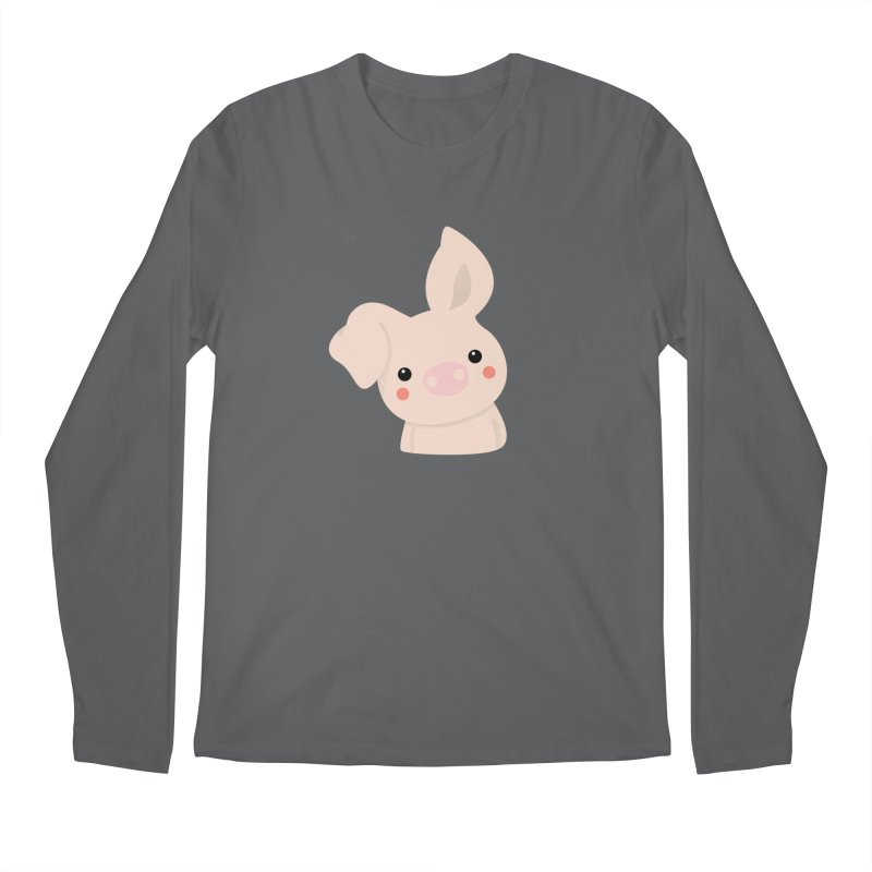 Happy Chinese New Year - Pig Men's Longsleeve T-Shirt by theladyernestember's Artist Shop