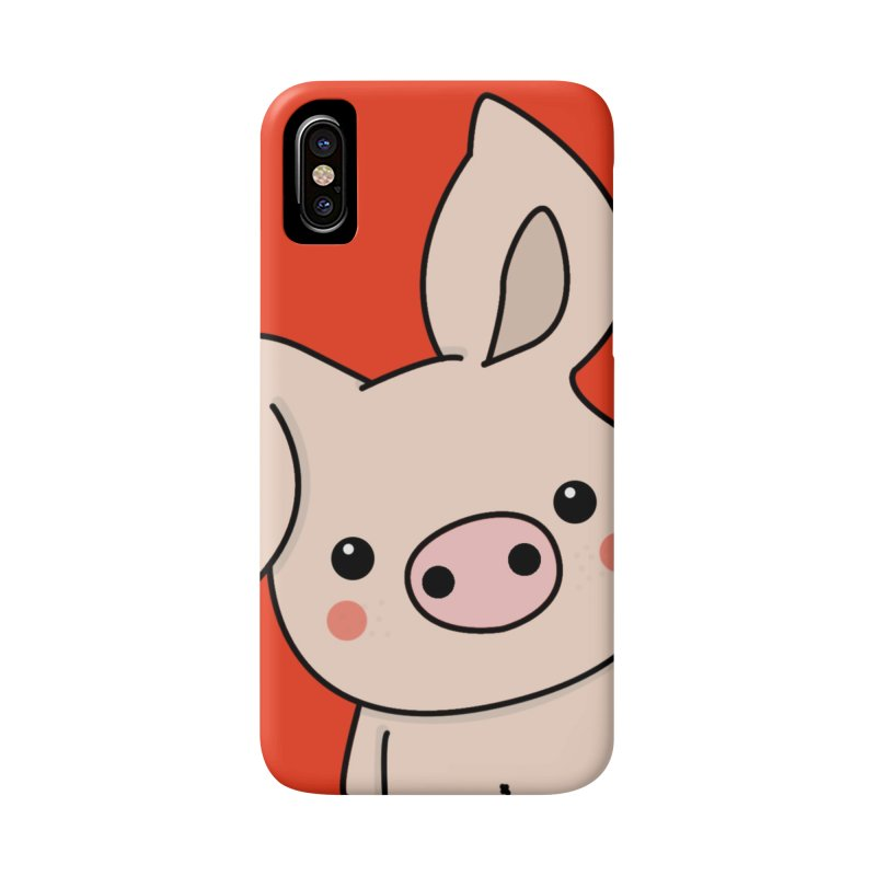 Happy Chinese New Year - Pig Accessories Phone Case by theladyernestember's Artist Shop