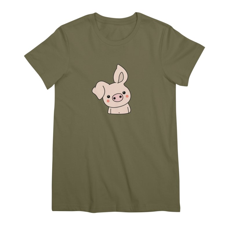 Happy Chinese New Year - Pig Women's Premium T-Shirt by theladyernestember's Artist Shop
