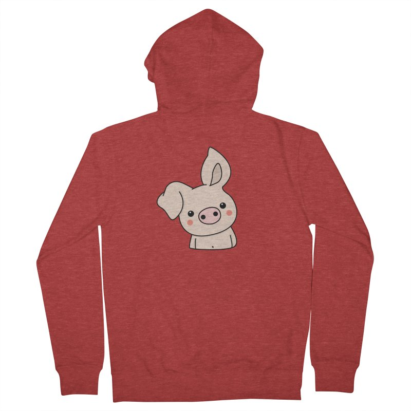 Happy Chinese New Year - Pig Men's French Terry Zip-Up Hoody by theladyernestember's Artist Shop