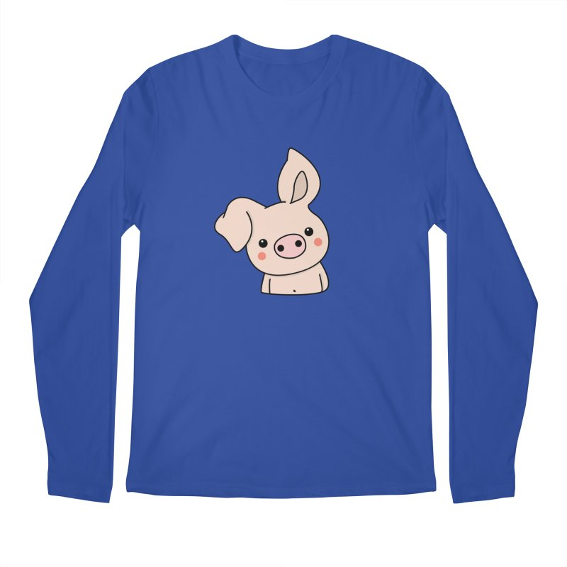 Happy Chinese New Year - Pig Men's Regular Longsleeve T-Shirt by theladyernestember's Artist Shop