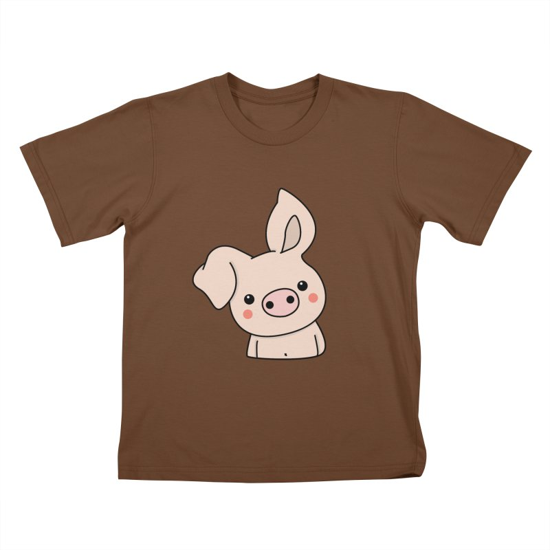 Happy Chinese New Year - Pig Kids T-Shirt by theladyernestember's Artist Shop