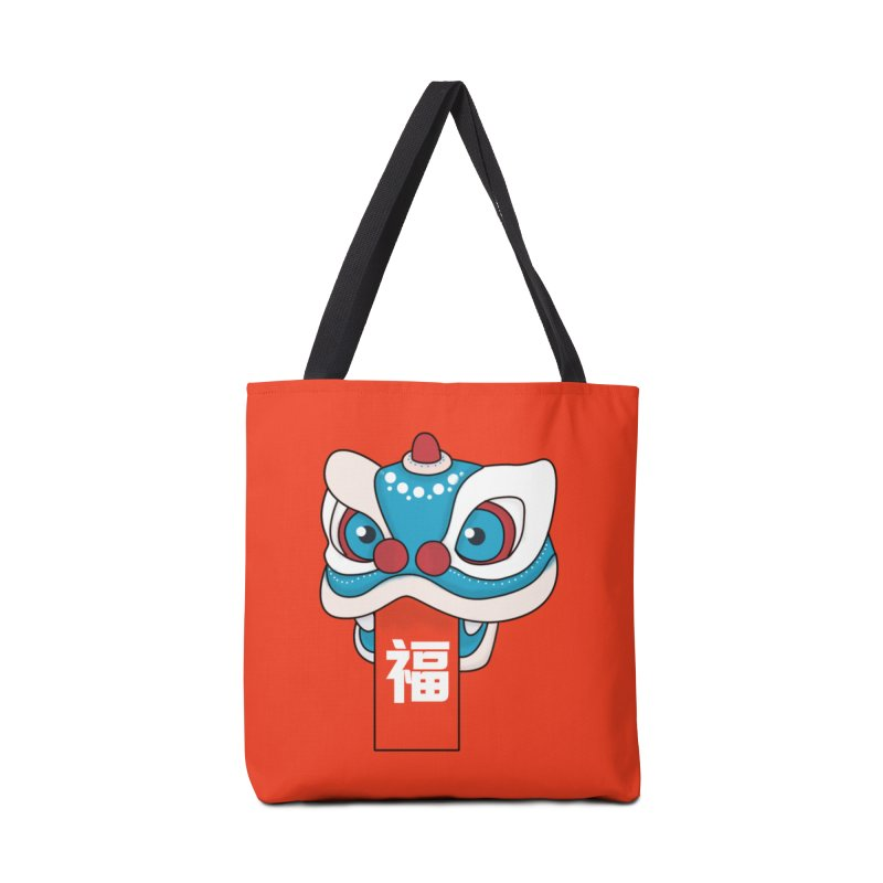 Happy Chinese New Year - Lion Dance Accessories Bag by theladyernestember's Artist Shop