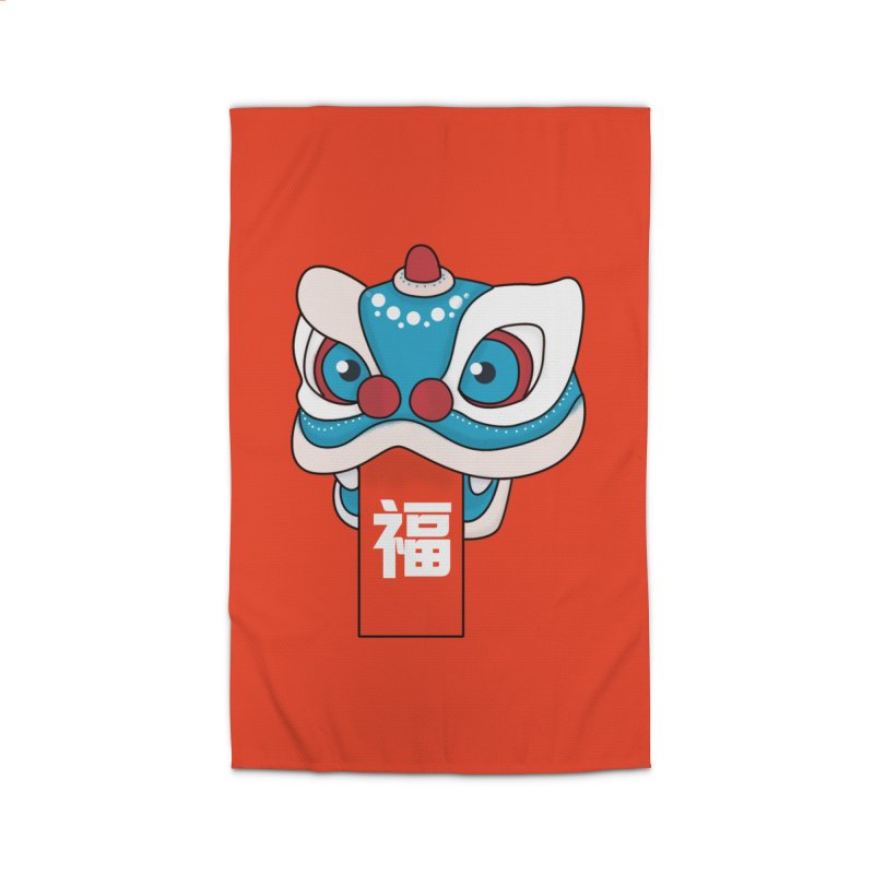 Happy Chinese New Year - Lion Dance Home Rug by theladyernestember's Artist Shop