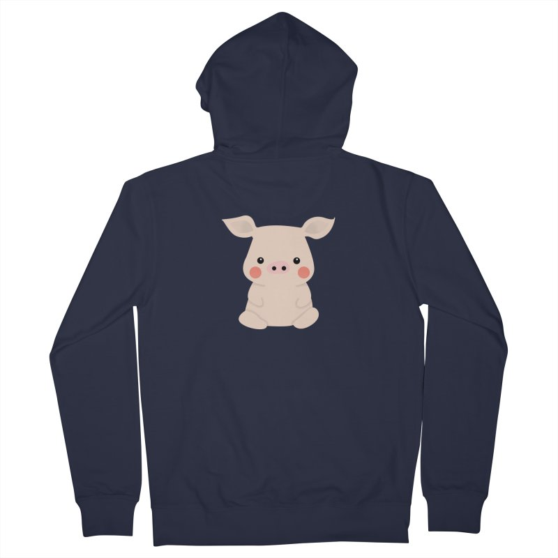 Happy Chinese New Year - Pig Women's French Terry Zip-Up Hoody by theladyernestember's Artist Shop