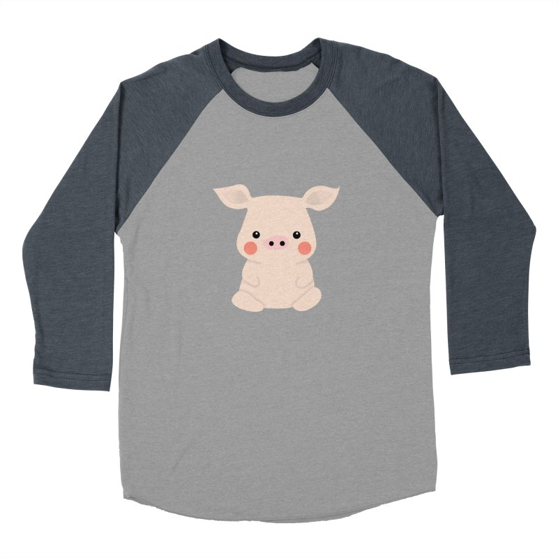 Happy Chinese New Year - Pig Men's Baseball Triblend Longsleeve T-Shirt by theladyernestember's Artist Shop