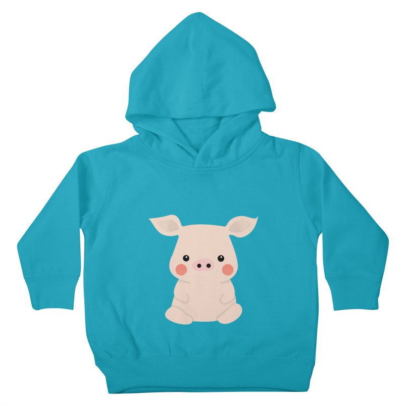 Happy Chinese New Year - Pig Kids Toddler Pullover Hoody by theladyernestember's Artist Shop