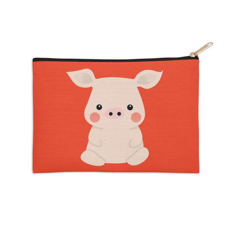 Happy Chinese New Year - Pig Accessories Zip Pouch by theladyernestember's Artist Shop