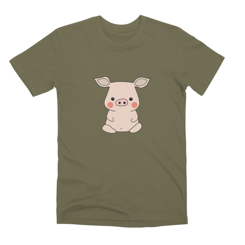 Happy Chinese New Year - Pig Men's Premium T-Shirt by theladyernestember's Artist Shop