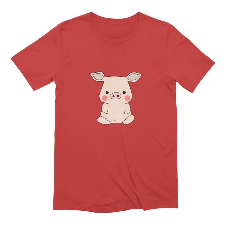 Happy Chinese New Year - Pig Men's Extra Soft T-Shirt by the lady ernest ember's Artist Shop
