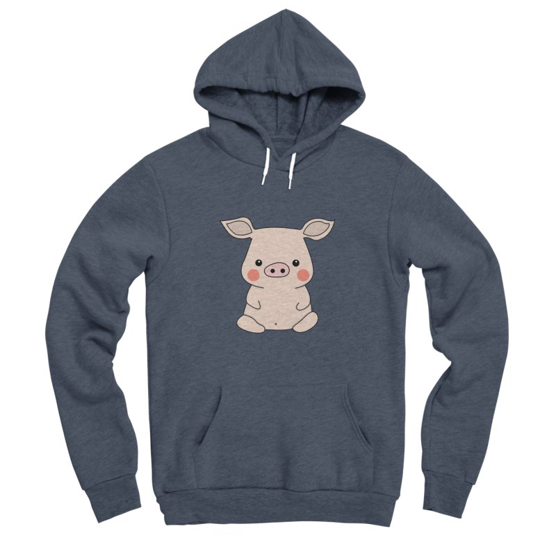 Happy Chinese New Year - Pig Men's Sponge Fleece Pullover Hoody by the lady ernest ember's Artist Shop
