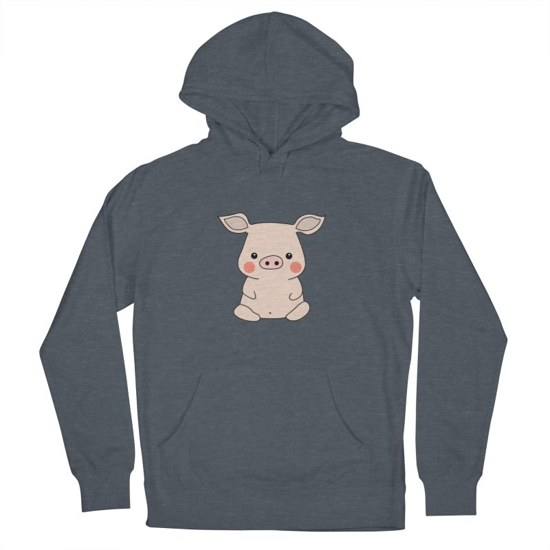 Happy Chinese New Year - Pig Men's French Terry Pullover Hoody by the lady ernest ember's Artist Shop