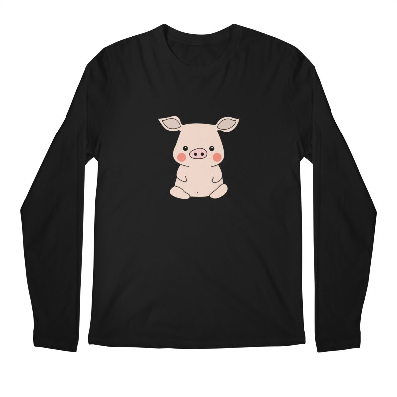 Happy Chinese New Year - Pig Men's Regular Longsleeve T-Shirt by theladyernestember's Artist Shop