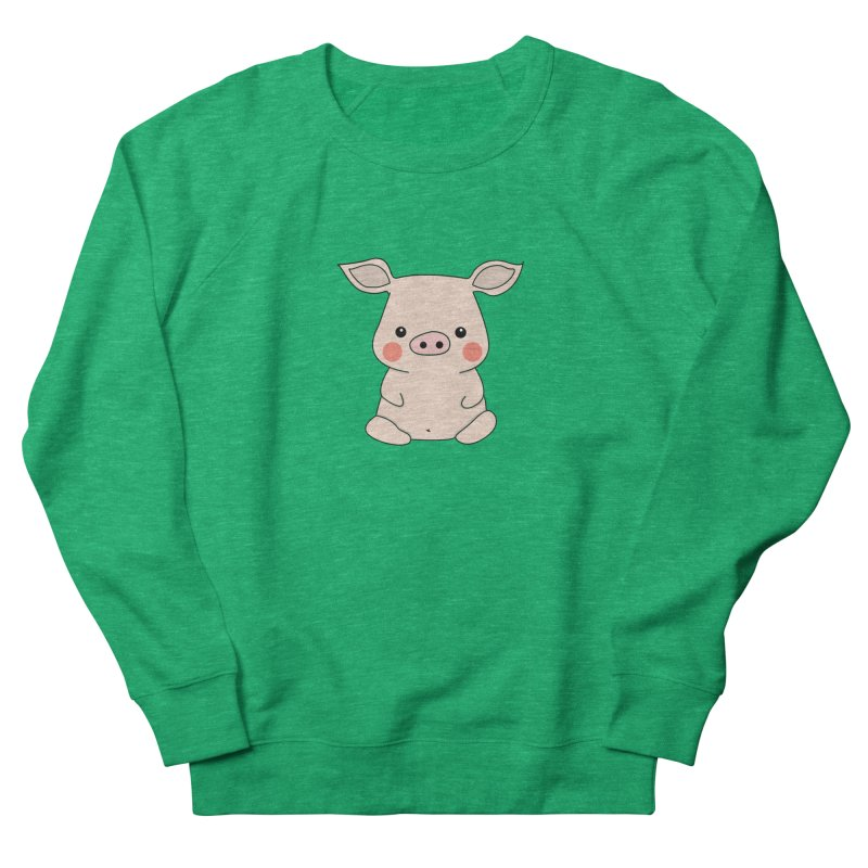 Happy Chinese New Year - Pig Women's French Terry Sweatshirt by theladyernestember's Artist Shop