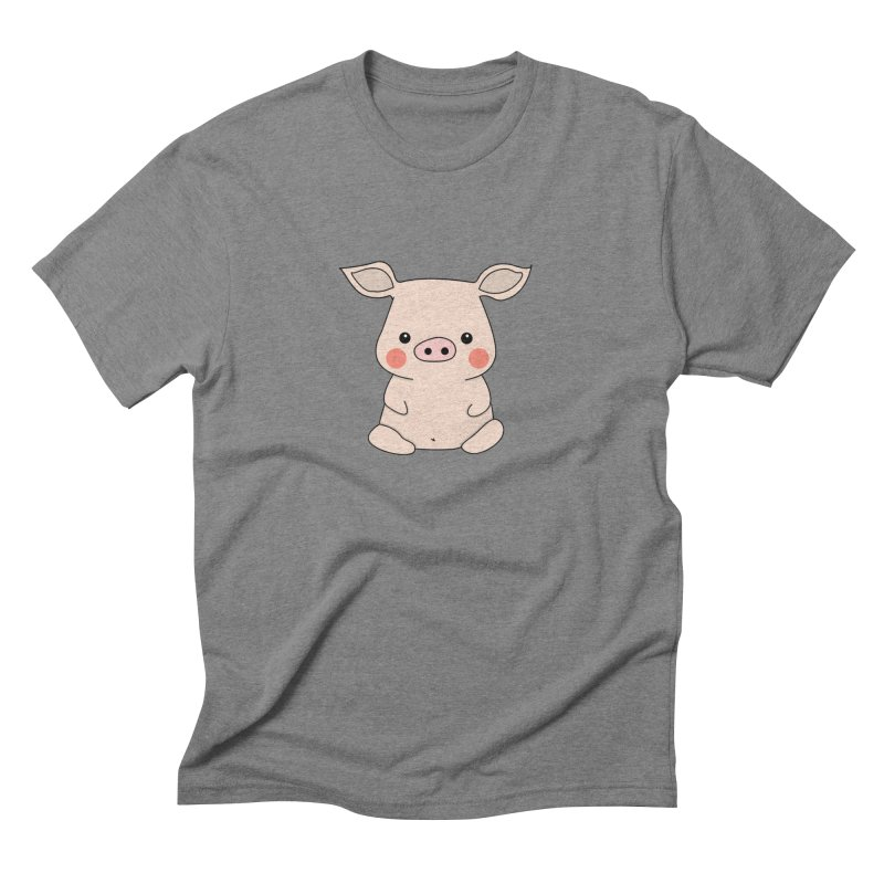 Happy Chinese New Year - Pig Men's Triblend T-Shirt by theladyernestember's Artist Shop