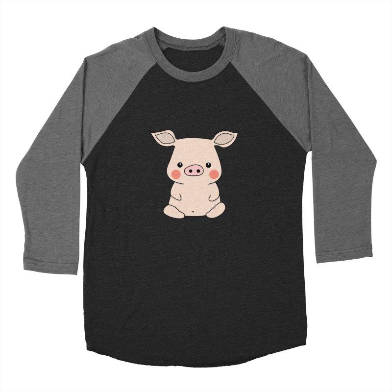 Happy Chinese New Year - Pig Women's Baseball Triblend Longsleeve T-Shirt by theladyernestember's Artist Shop