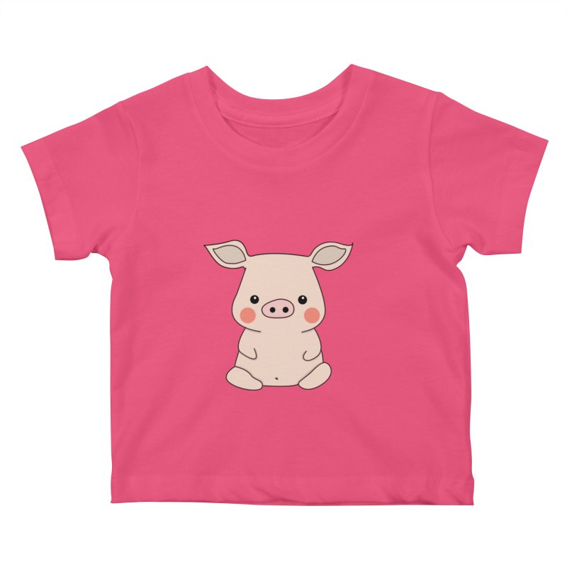 Happy Chinese New Year - Pig Kids Baby T-Shirt by the lady ernest ember's Artist Shop
