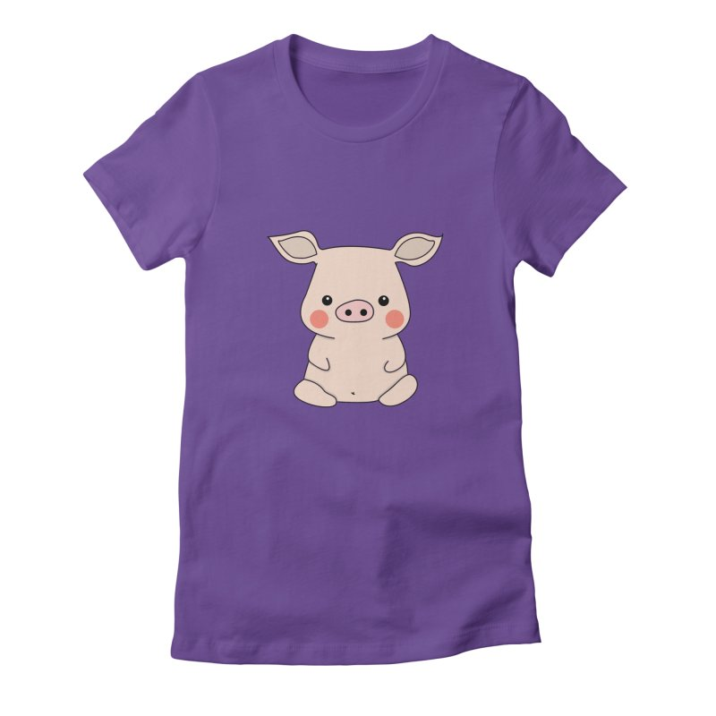 Happy Chinese New Year - Pig Women's Fitted T-Shirt by theladyernestember's Artist Shop