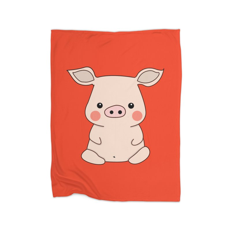 Happy Chinese New Year - Pig Home Blanket by theladyernestember's Artist Shop