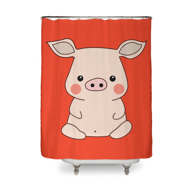 Happy Chinese New Year - Pig Home Shower Curtain by theladyernestember's Artist Shop