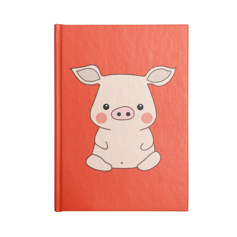 Happy Chinese New Year - Pig Accessories Notebook by theladyernestember's Artist Shop