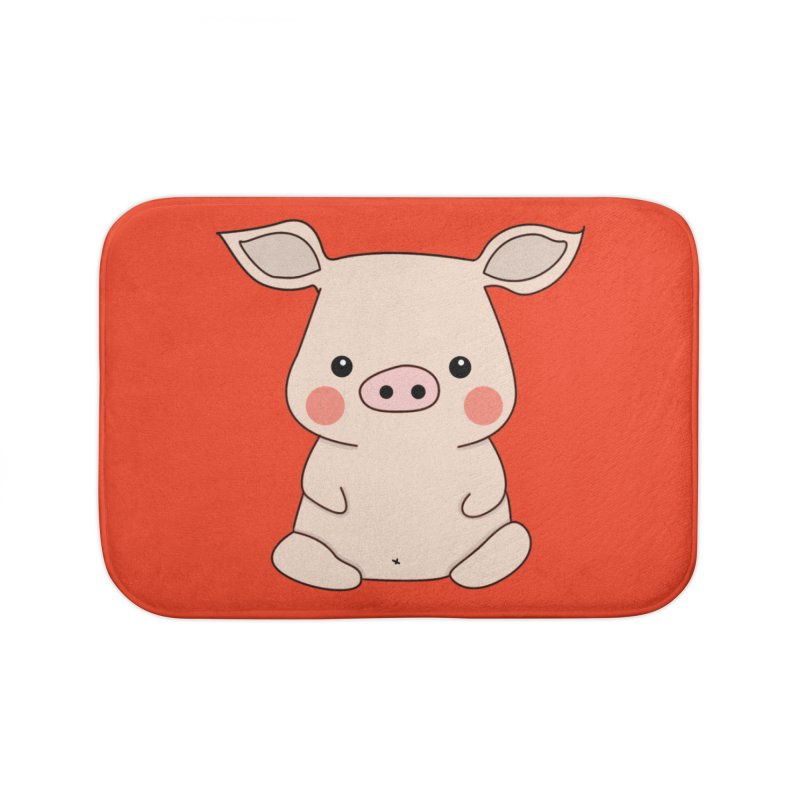 Happy Chinese New Year - Pig Home Bath Mat by theladyernestember's Artist Shop