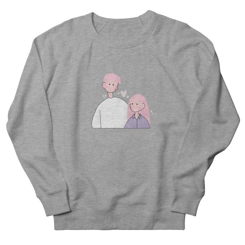 Happy Valentine's Day Men's French Terry Sweatshirt by theladyernestember's Artist Shop