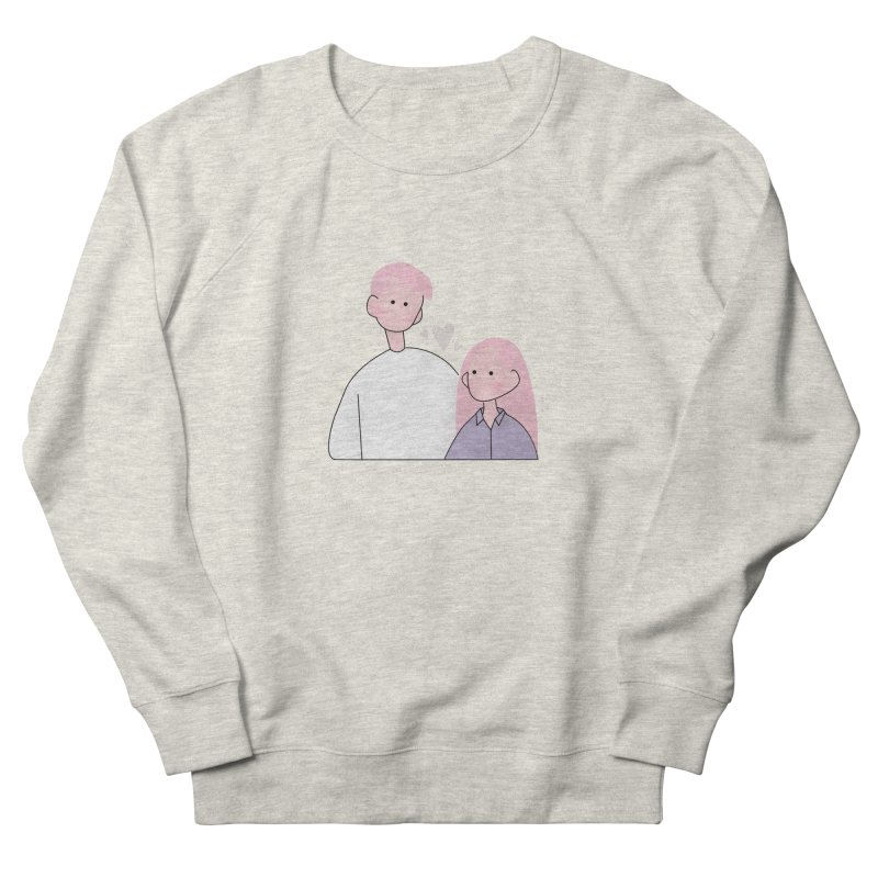 Happy Valentine's Day Men's French Terry Sweatshirt by theladyernestember's Artist Shop