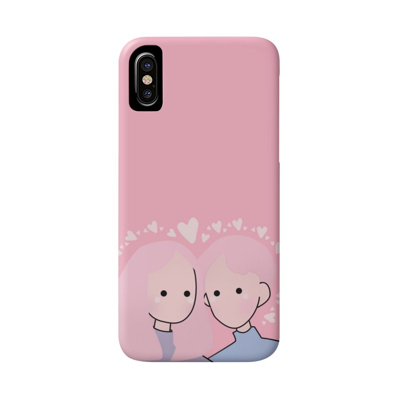 Happy Valentine's Day Accessories Phone Case by theladyernestember's Artist Shop