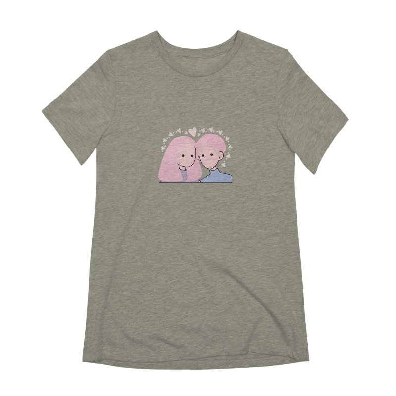 Happy Valentine's Day Women's Extra Soft T-Shirt by theladyernestember's Artist Shop