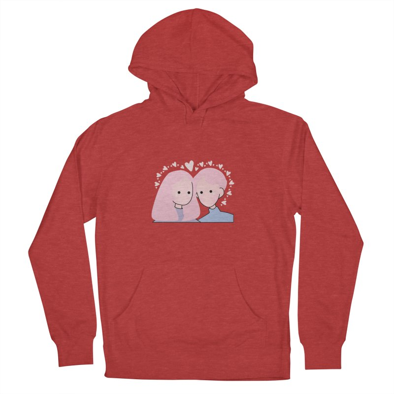 Happy Valentine's Day Women's French Terry Pullover Hoody by theladyernestember's Artist Shop