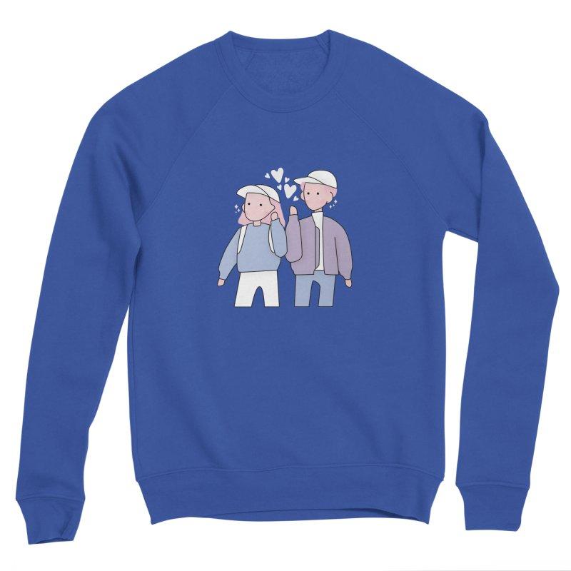 Happy Valentine's Day Men's Sweatshirt by theladyernestember's Artist Shop