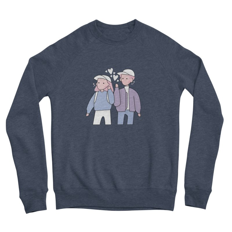 Happy Valentine's Day Men's Sponge Fleece Sweatshirt by the lady ernest ember's Artist Shop