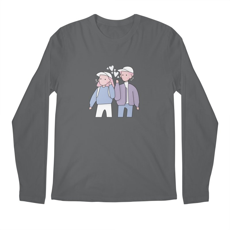 Happy Valentine's Day Men's Longsleeve T-Shirt by theladyernestember's Artist Shop
