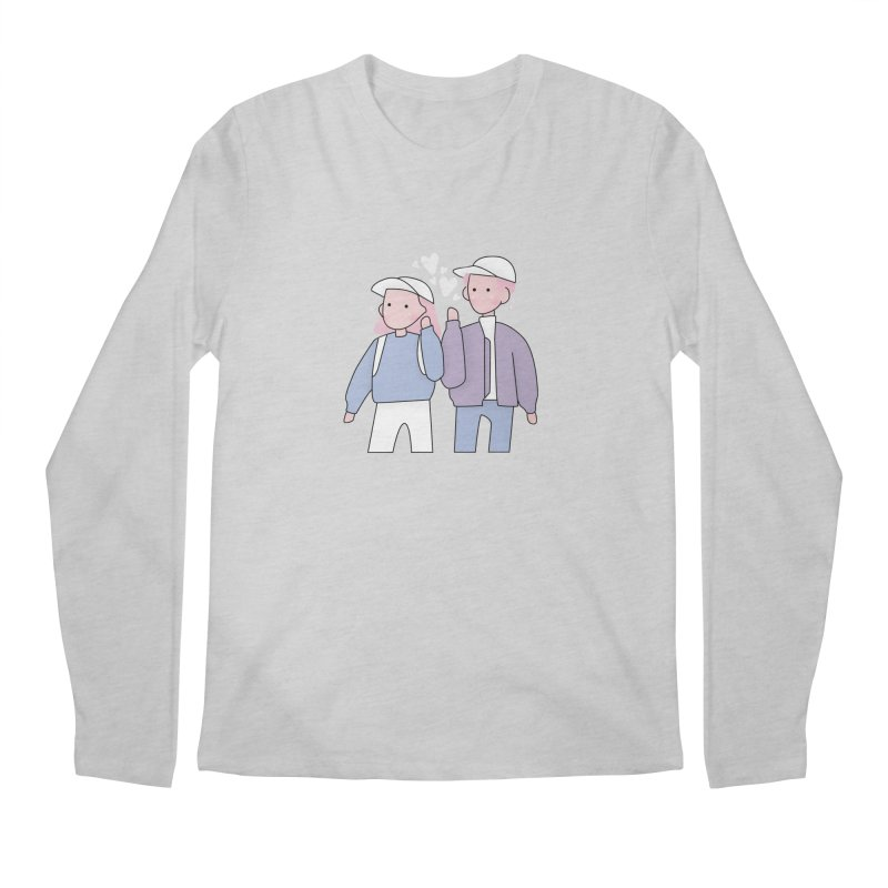 Happy Valentine's Day Men's Longsleeve T-Shirt by theladyernestember's Artist Shop