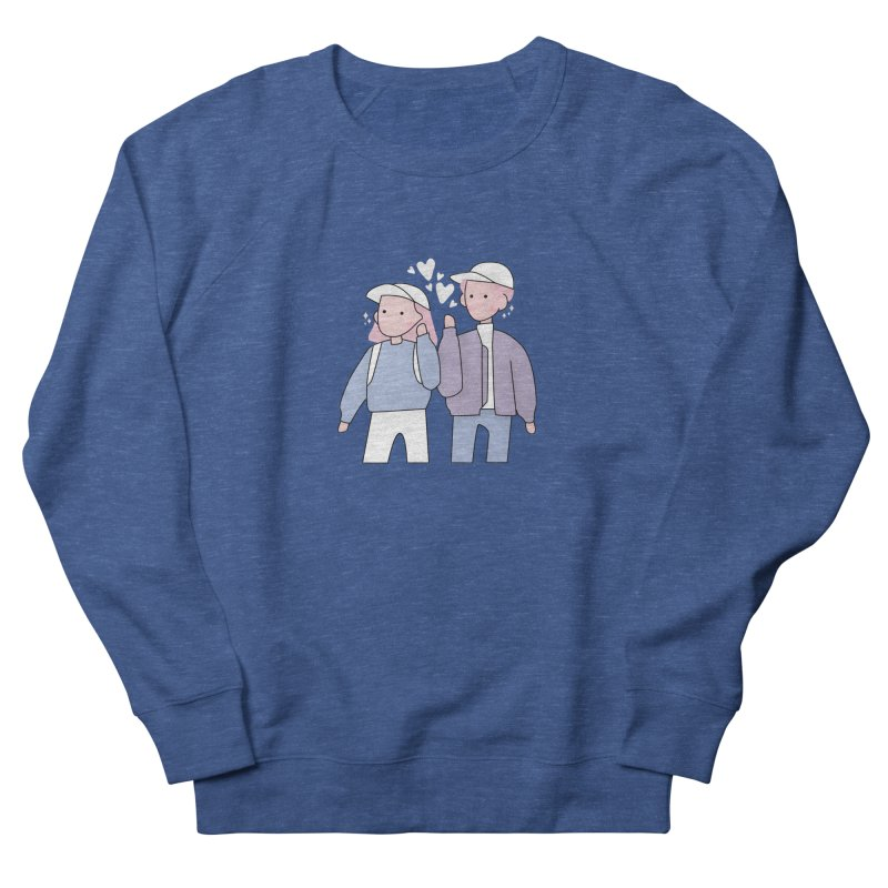 Happy Valentine's Day Men's Sweatshirt by theladyernestember's Artist Shop