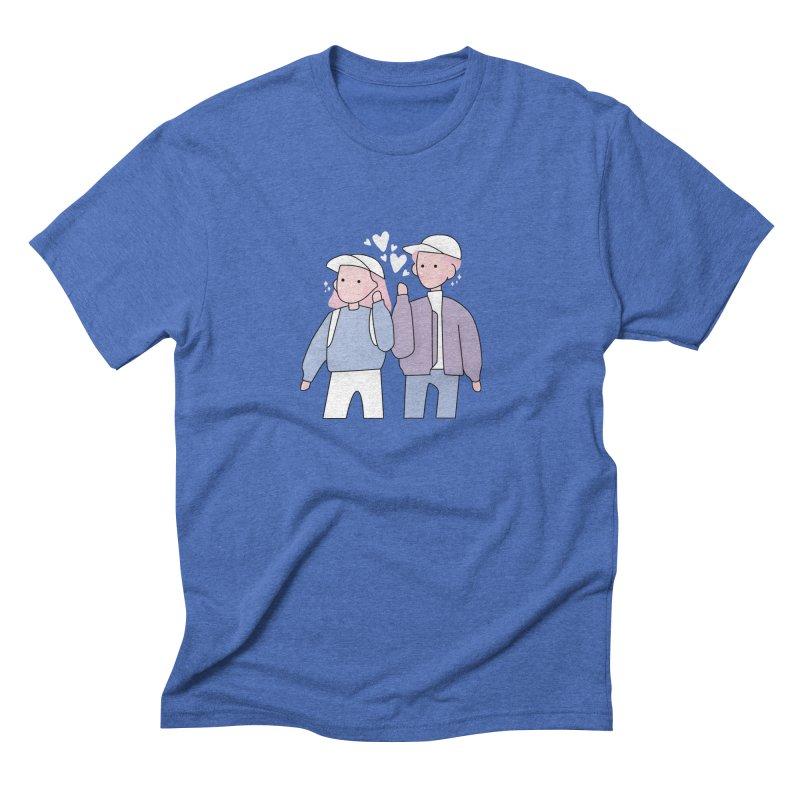 Happy Valentine's Day Men's T-Shirt by theladyernestember's Artist Shop