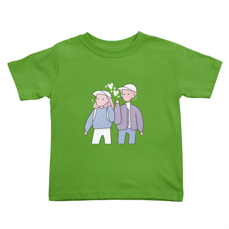 Happy Valentine's Day Kids Toddler T-Shirt by theladyernestember's Artist Shop